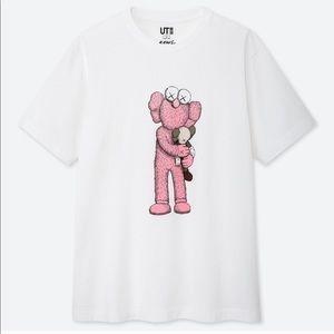 Uniqlo x KAWS Pink BFF
